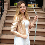 Chic of the Week: Amy's Sequined Summer Style