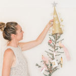 Holiday Special: DIY Pink and Gold Glitter Christmas Tree Topper
