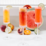 Lovely Libations: Build Your Own Ombré Mimosa Bar