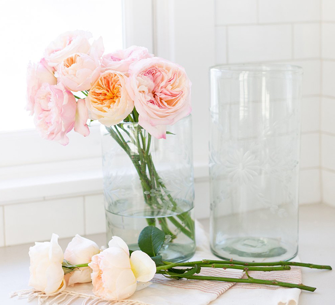 The Little Market Clear Glass Vase